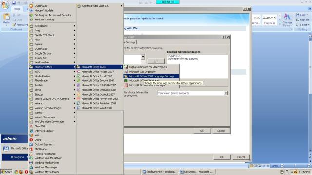 How to fix configuration progress in ms office (2003,2007,2010.